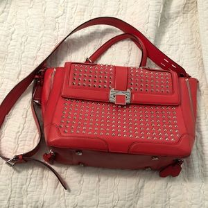Rebecca Minkoff Red Studded bag